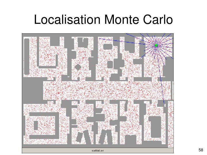 Localisation Monte Carlo