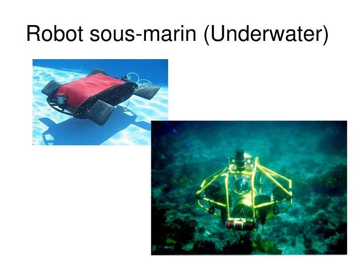 Robot sous-marin (Underwater)