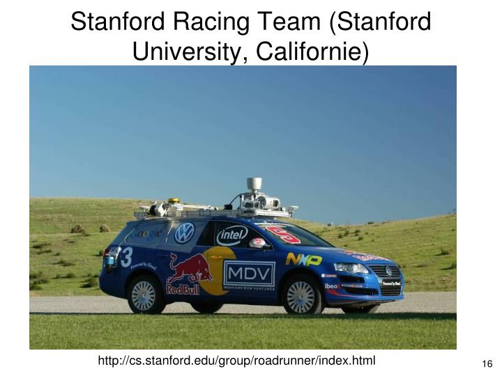 Stanford Racing Team (Stanford University, Californie)