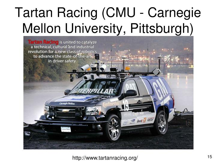 Tartan Racing (CMU - Carnegie Mellon University, Pittsburgh)