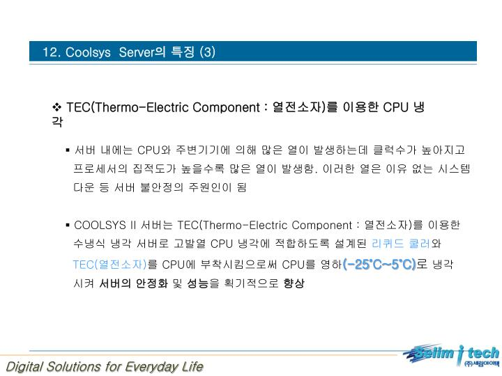 12. Coolsys  Server