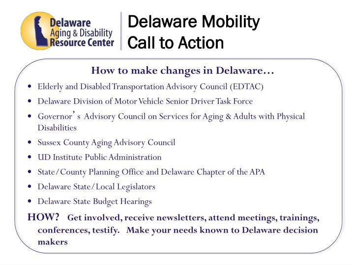Delaware Mobility