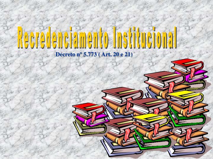 Recredenciamento Institucional
