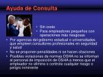 ayuda de consulta