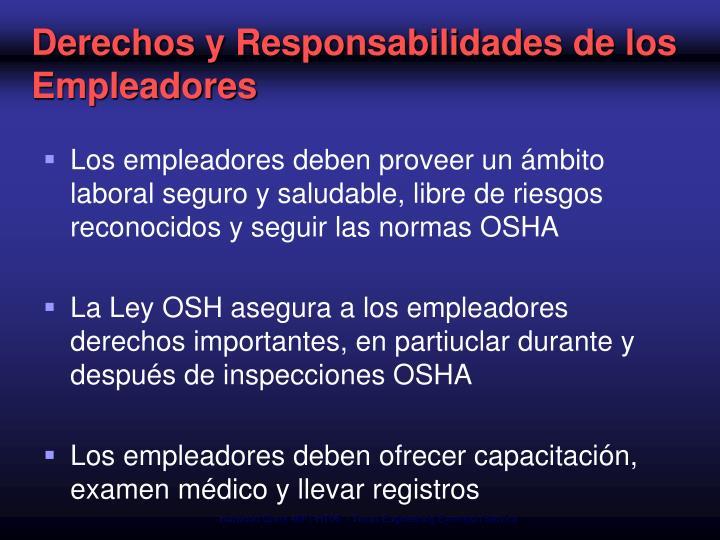 Derechos y Responsabilidades de los Empleadores