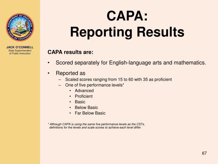 CAPA: