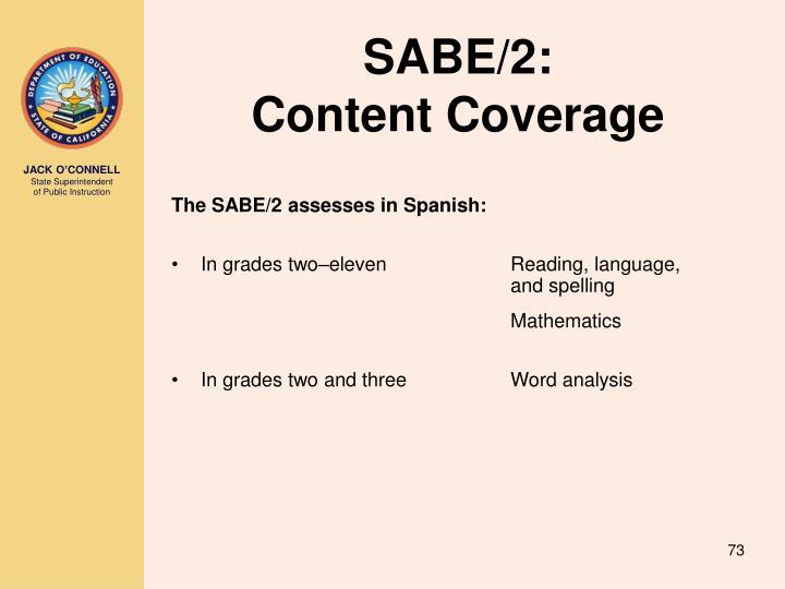 SABE/2: