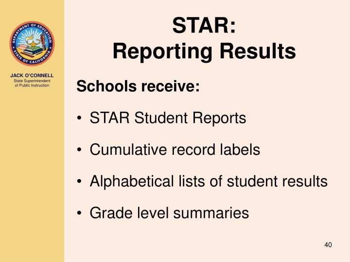 STAR: