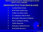 vietnam road safety improvement study2