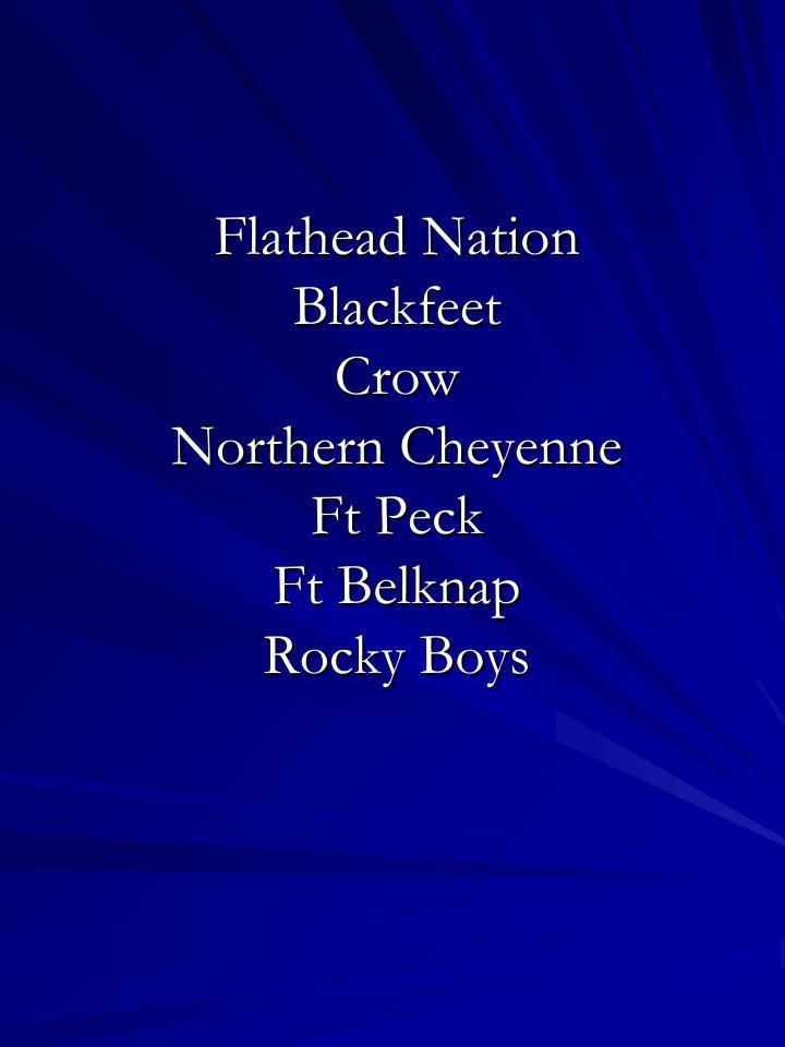 Flathead Nation