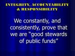integrity accountability responsibility27