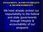 integrity accountability responsibility31
