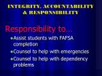 integrity accountability responsibility32