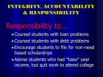 integrity accountability responsibility33