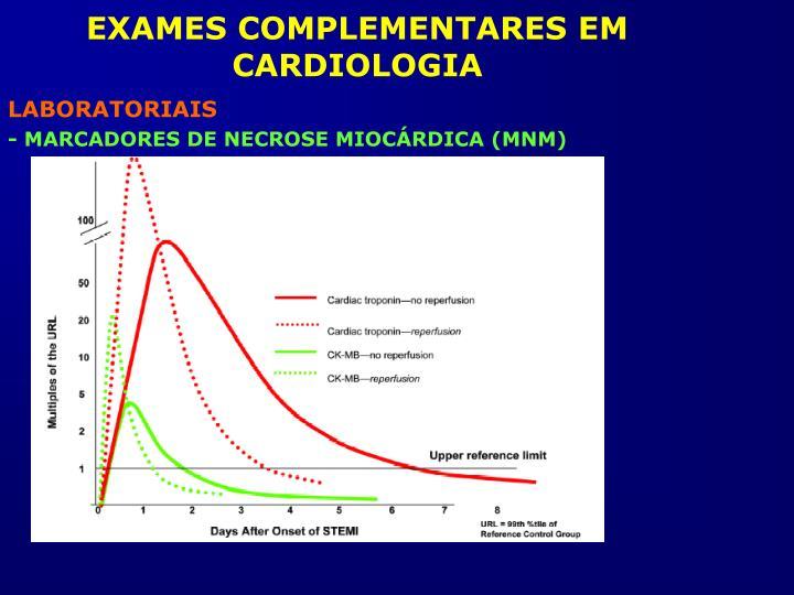 EXAMES COMPLEMENTARES EM CARDIOLOGIA
