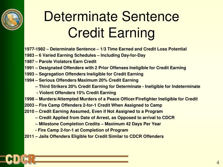 Determinate Sentence