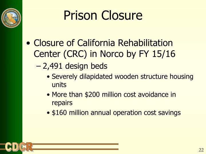 Prison Closure