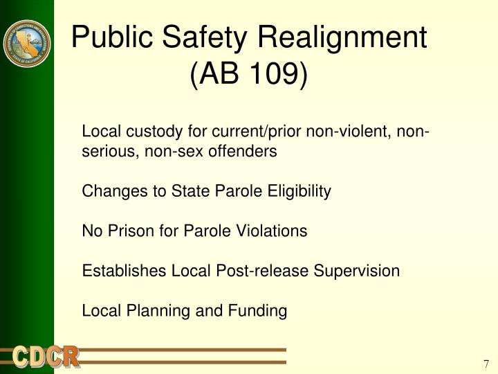 Public Safety Realignment
