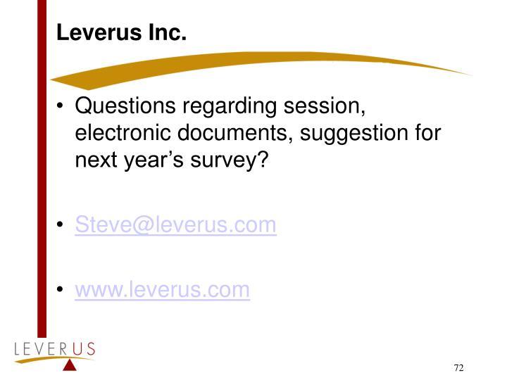 Leverus Inc.