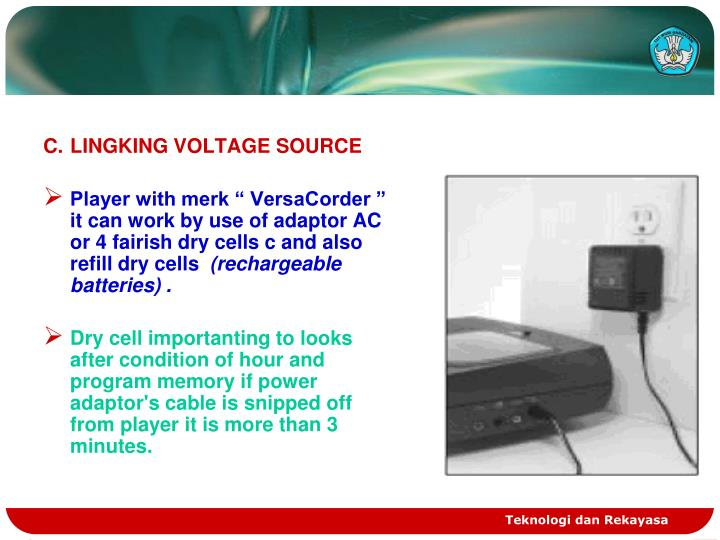 C.	LINGKING VOLTAGE SOURCE