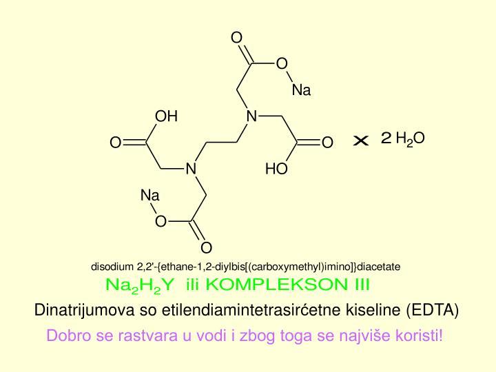 Dinatrijumova so etilendiamintetrasir