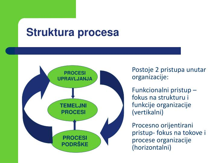 Struktura procesa
