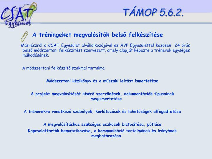 TÁMOP 5.6.2.