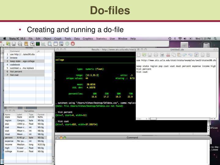 Do-files