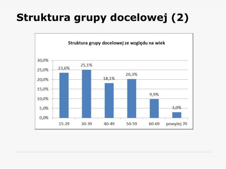 Struktura grupy docelowej (2)