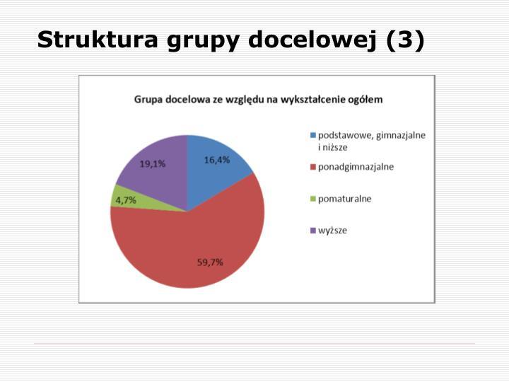 Struktura grupy docelowej (3)
