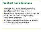 practical considerations2