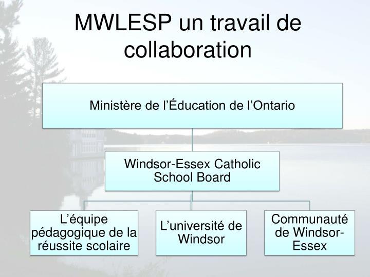 MWLESP un travail de collaboration
