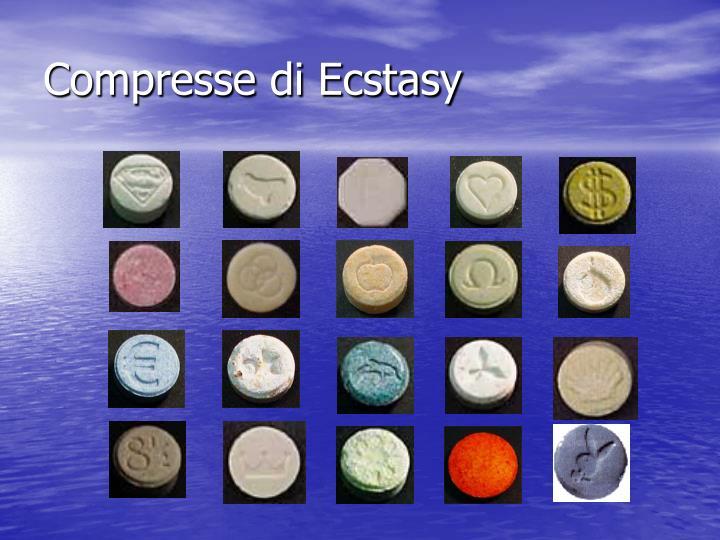 Compresse di Ecstasy