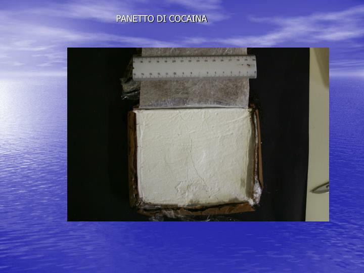 PANETTO DI COCAINA