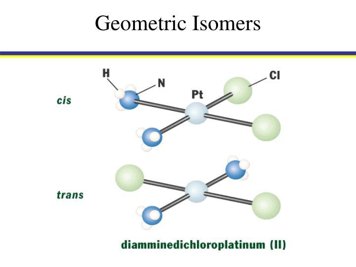 Geometric Isomers