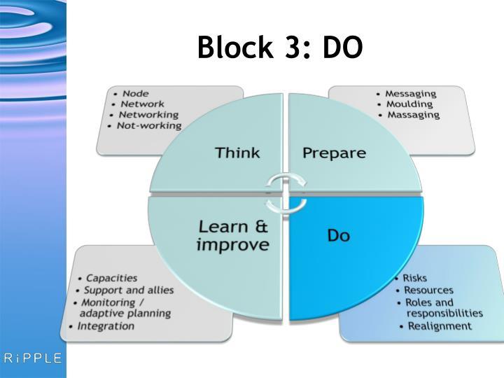 Block 3: DO