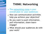 think networking