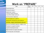 work on prepare1
