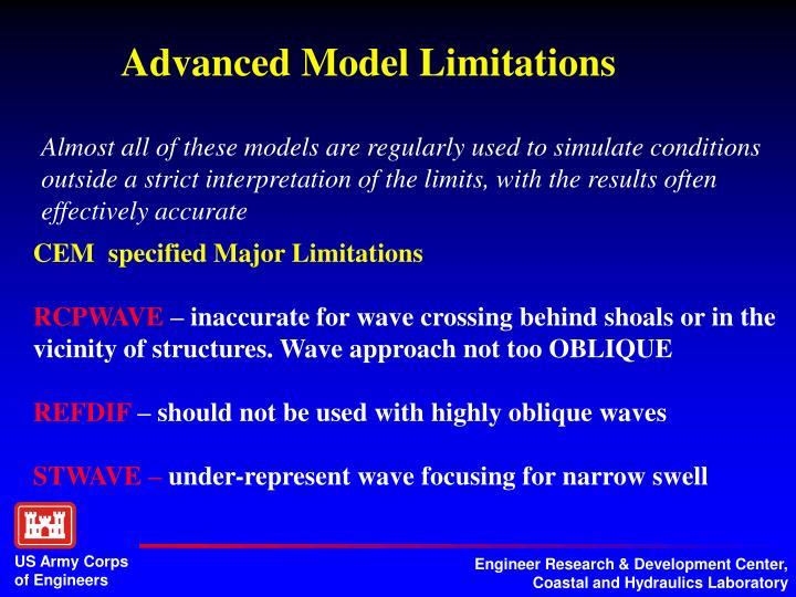Advanced Model Limitations
