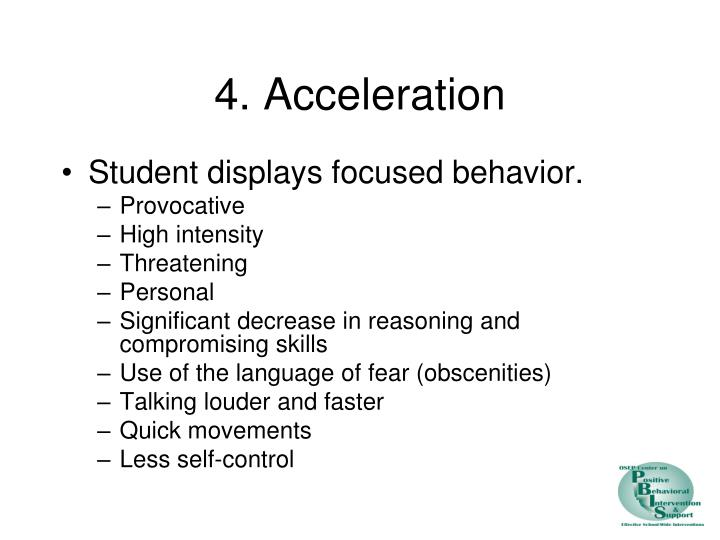 4. Acceleration
