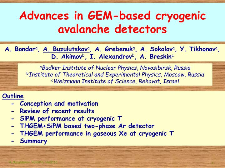 Advances in GEM-based cryogenic avalanche detectors