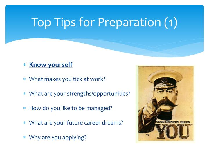 Top Tips for Preparation (1)