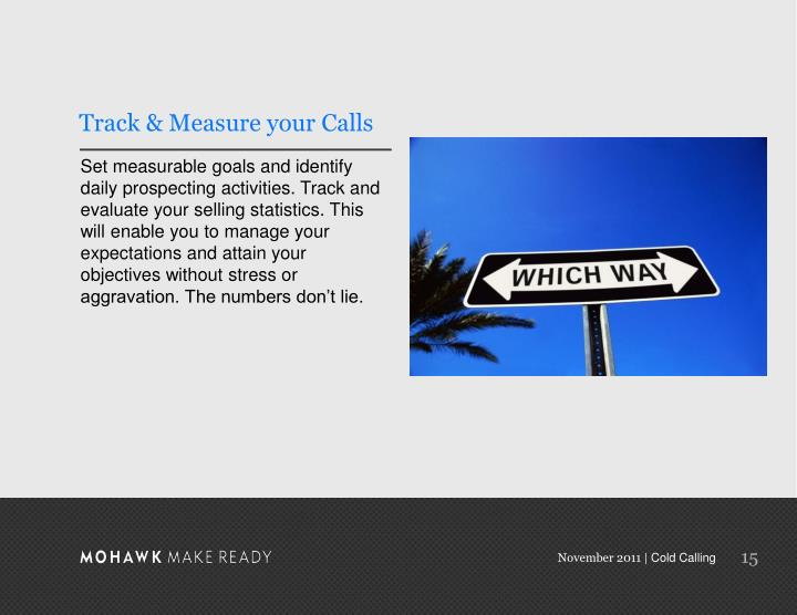 Track & Measure your Calls