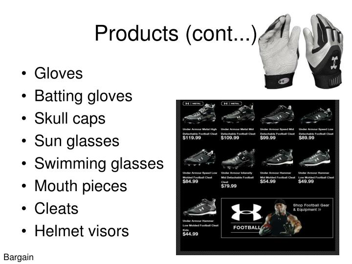 Products (cont...)