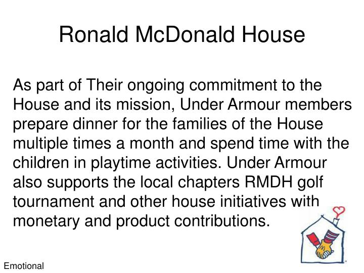 Ronald McDonald House