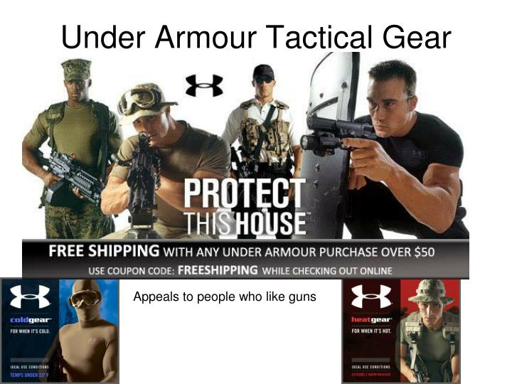 Under Armour Tactical Gear