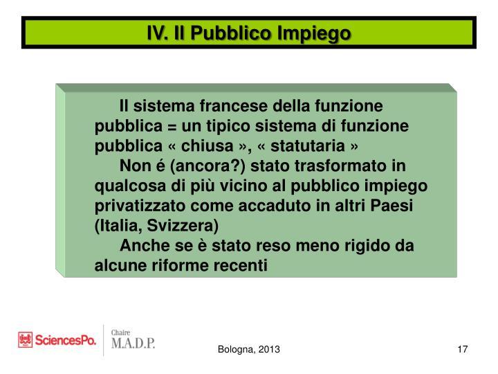 IV. Il