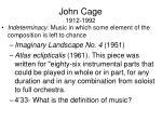 john cage 1912 19922