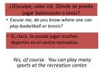 disculpe sabe ud d nde se puede jugar baloncesto o ten s