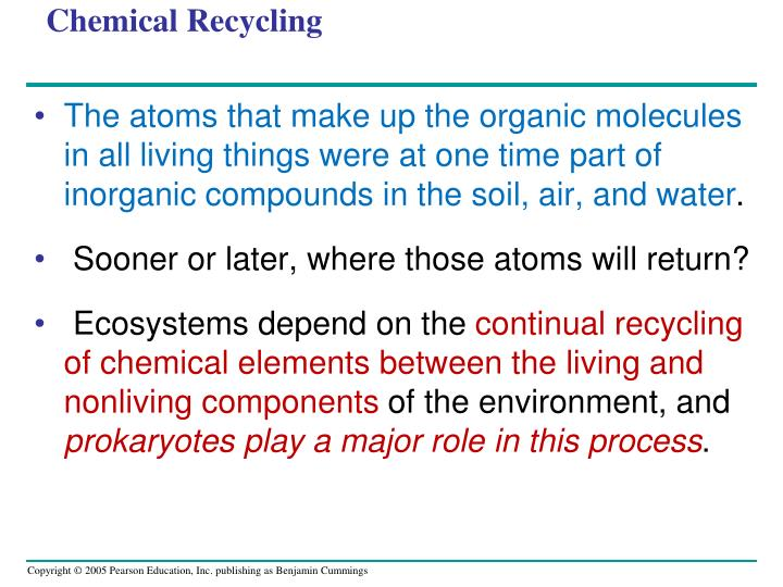 Chemical Recycling